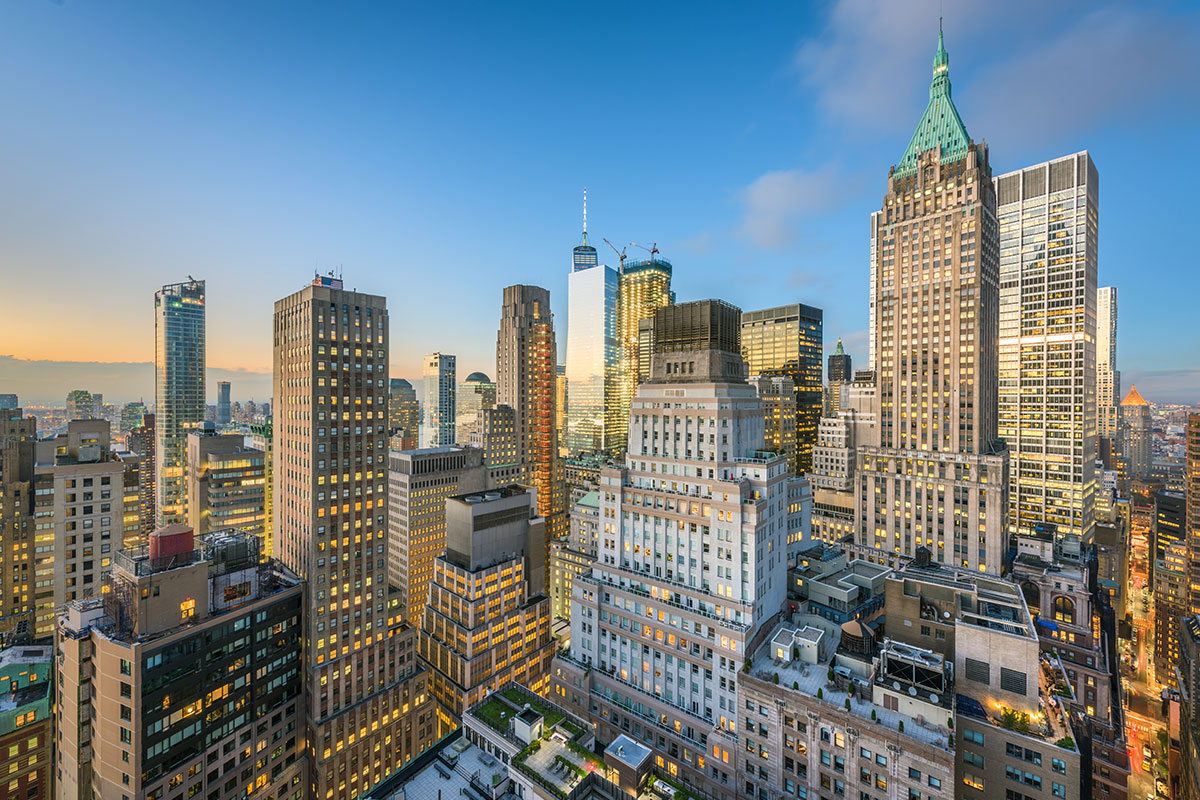 Finanzviertel in New York City (Foto: SeanPavonePhoto, Envato Elements)