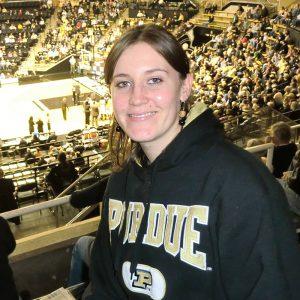 Jessica Werner, Purdue University 2012
