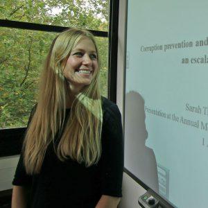 Sarah Tischer, Austauschprogramm 2014