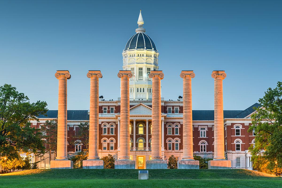 The Columns, University of Missouri (Foto: SeanPavonePhoto, Envato Elements)